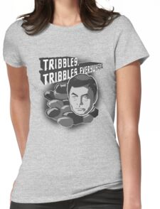 Tribbles. Tribbles Everywhere! Womens Fitted T-Shirt