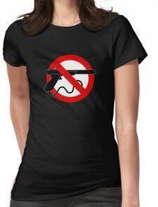 Light Gun Control Womens Fitted T-Shirt
