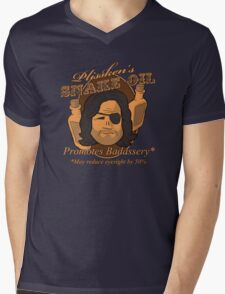 Plissken's Snake Oil Mens V-Neck T-Shirt