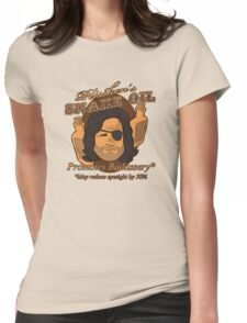 Plissken's Snake Oil Womens Fitted T-Shirt