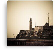 Castillo del Morro Canvas Print