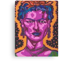 The Inspiration of Frida Kahlo Canvas Print