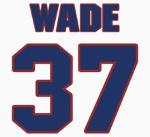 National football player Bob Wade jersey 37 by imsport
