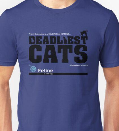 Deadliest Cats Unisex T-Shirt