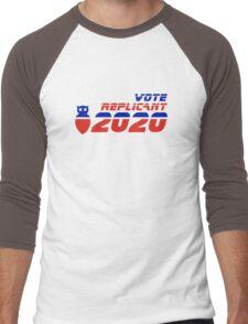 Vote Replicant 2020 Men's Baseball ¾ T-Shirt