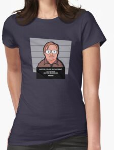 Milton's Mugshot Womens Fitted T-Shirt