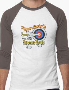 Topper Harley's Free Range Shooting Range Men's Baseball ¾ T-Shirt