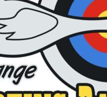 Topper Harley's Free Range Shooting Range Sticker