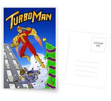 It's Turbo Time! Postcards