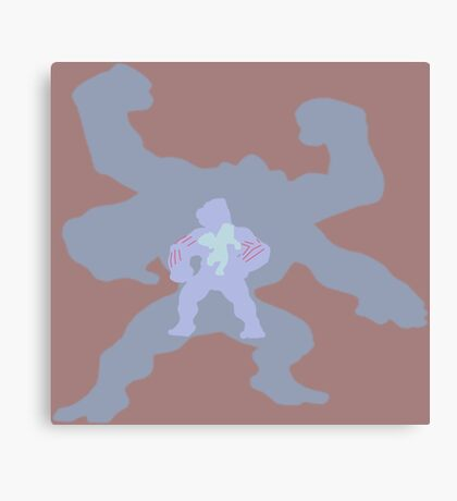 The Muscle Man Canvas Print