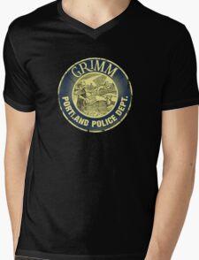 Grimm Police Department Mens V-Neck T-Shirt