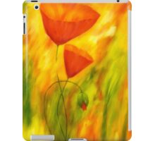 Lovely poppies iPad Case/Skin