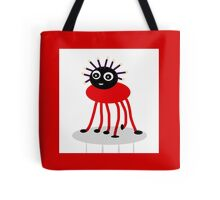 BUG-ME-NOT, red Tote Bag