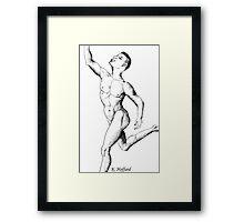 Anatomy of a Dancer Framed Print