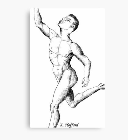 Anatomy of a Dancer Canvas Print