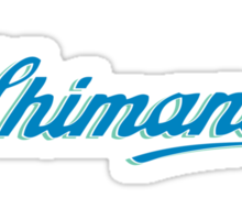 Shimano - Vintage Blue/Green Sticker