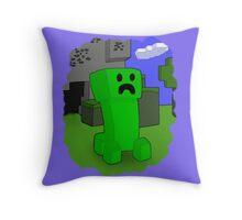 Creepin' Throw Pillow