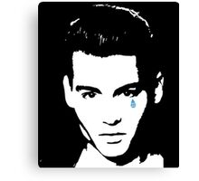 Cry Baby-JD  Canvas Print