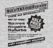 Bill's Tardis Repairs One Piece - Long Sleeve