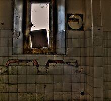 Mirror In The Bathroom by Dave Warren