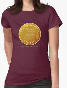 Brian's Romanorum Victus. Womens Fitted T-Shirt