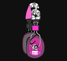Edzemo Headphones in Pink Womens Fitted T-Shirt