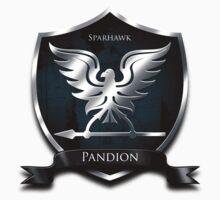 Sparhawk -Pandion Knight. T-Shirt