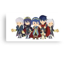 Chibi Fire Emblem Gang Canvas Print