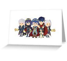 Chibi Fire Emblem Gang Greeting Card