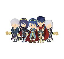 Chibi Fire Emblem Gang Photographic Print