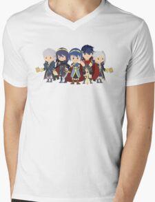 Chibi Fire Emblem Gang Mens V-Neck T-Shirt