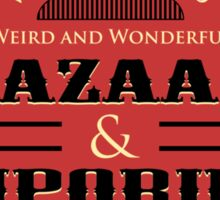 Whedon's Bazaar and Emporium Sticker