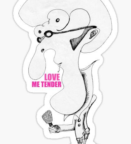 Elvis Impersonator - Love Me Tender Sticker