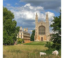 King's College Chapel, Cambridge Photographic Print