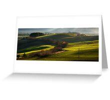 Green Hills Greeting Card