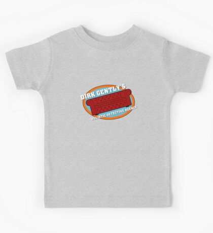 Dirk Gently's Holistic Detective Agency Logo Kids Clothes