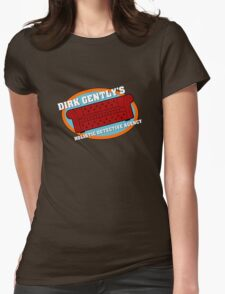Dirk Gently's Holistic Detective Agency Logo Womens Fitted T-Shirt