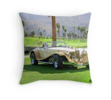 Clenet Automobile Throw Pillow