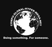 Compu-Global-Hyper-Mega-Net One Piece - Short Sleeve