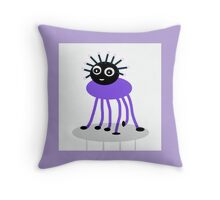 PUPLE BUG-ME-NOT,  collectables  Throw Pillow