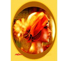 The Flapper Photographic Print