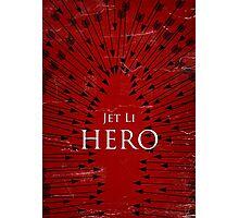 Hero - Red Photographic Print