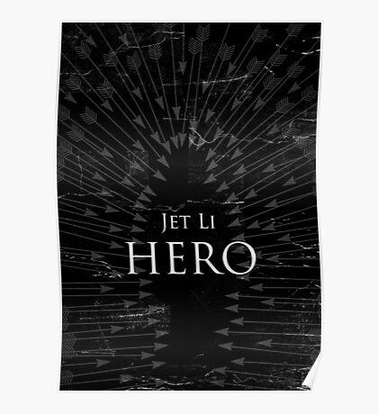 Hero - Black Poster