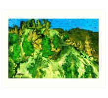 Mesa Verde Art Print