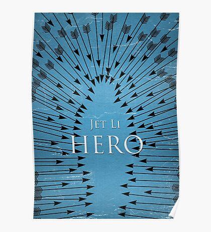 Hero - Blue Poster