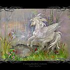 Pegasus - Misty Pond by Michelle  McIntyre