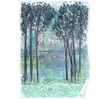 Green River Tall Trees Poster