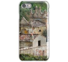 old and abandoned cemetery iPhone Case/Skin