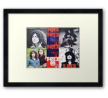 T.Rex Tribute                                                        Framed Print