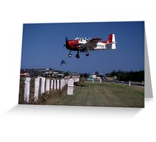 Trojan Approach @ Great Eastern Fly-In 1998 Greeting Card